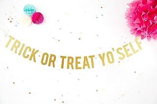 Festoni Halloween Decorazioni di Halloween Festone scritta Halloween Ghirlanda Glitter Decorazione per feste a tema. Chic ...
