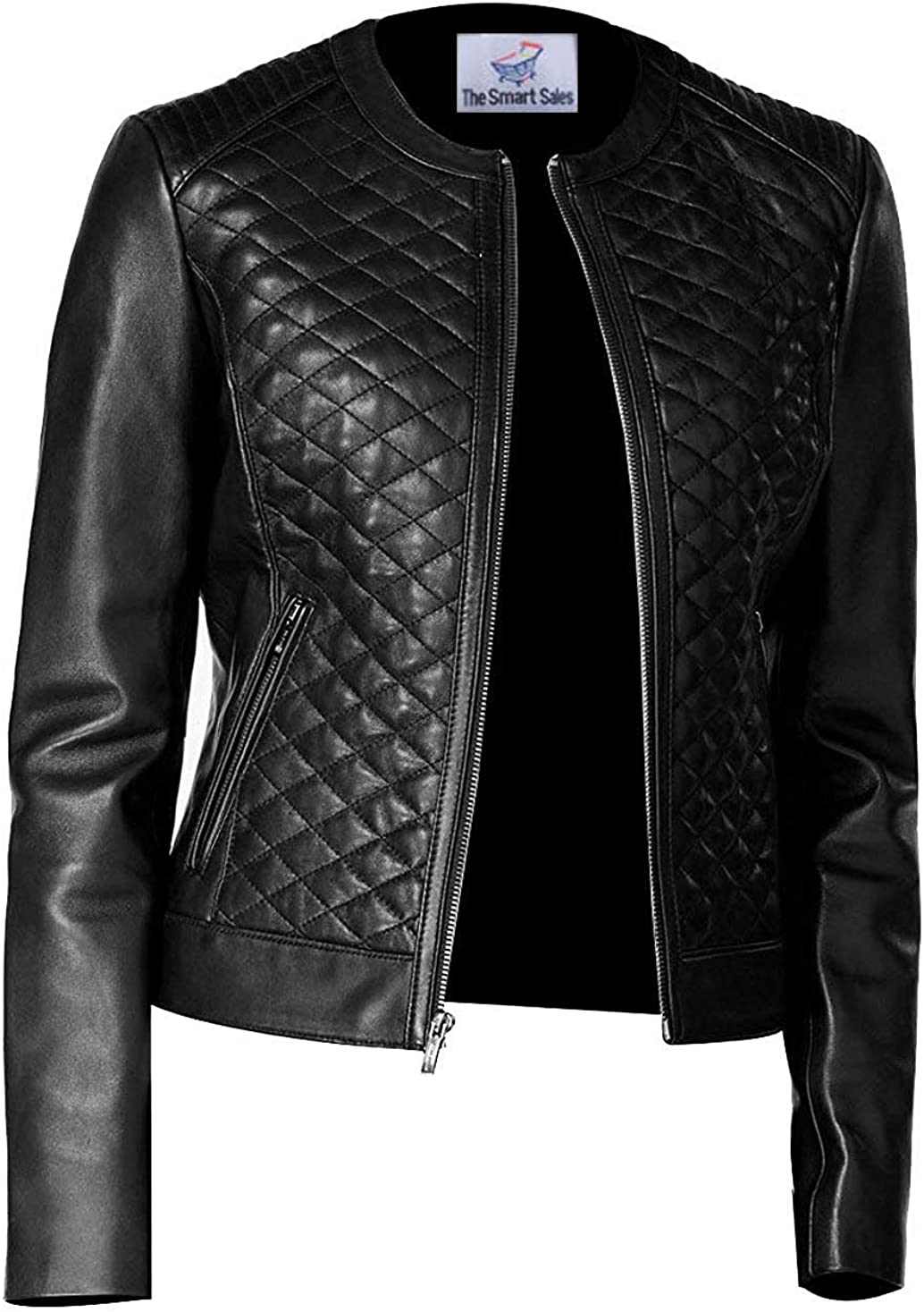 TheSmartSales Max 69% OFF Perfection Personified Stylish Quilted Faux Black unisex