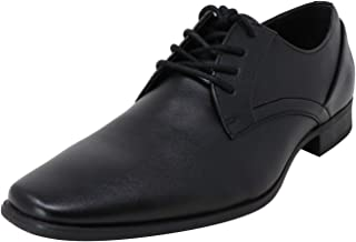 Calvin Klein Men's Benton Leather Oxford Flat