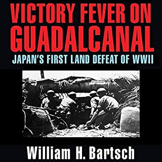 Victory Fever on Guadalcanal audiobook cover art