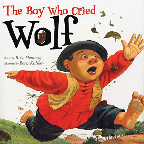 The Boy Who Cried Wolf audiobook cover art