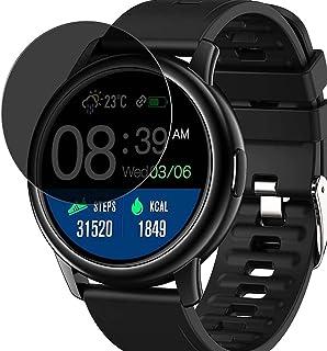 Vaxson Sekretess skärmskydd, kompatibel med Donerton BOZLUN S27 1,3 tum smart klocka smartwatch, anti-spionskydd filmskydd...