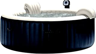 Skroutz Outdoor Portable Massage Hot Tub 6 Person Water Pool Floats Digital Spa Inflatable Heated Bubble Jet Therapy