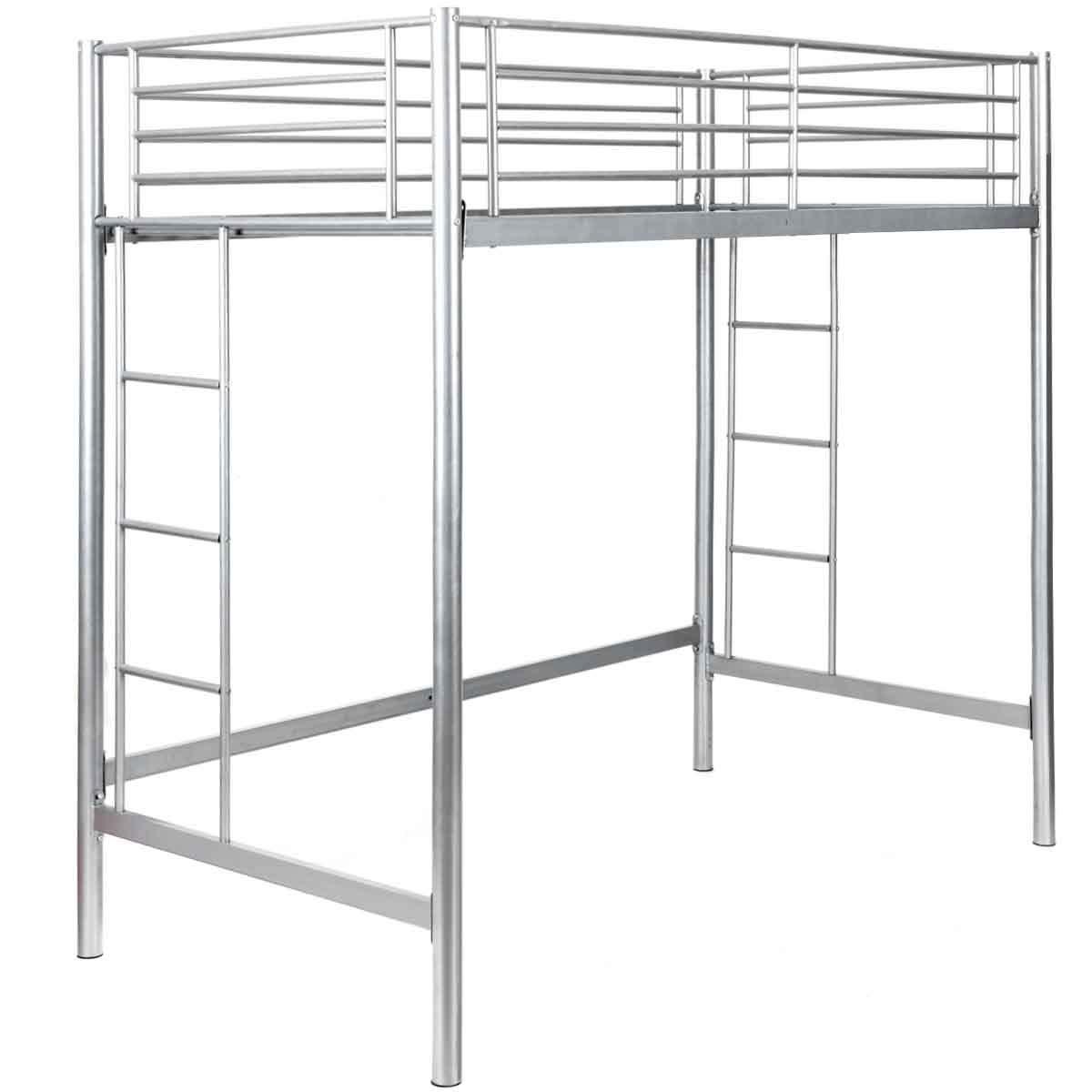 Safstar - Litera de Metal Doble para niños, Multifuncional, tamaño Doble, con Escalera, para Dormitorio: Amazon.es: Hogar