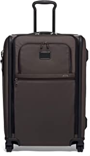 TUMI - Alpha 3 Short Trip Expandable 4 Wheeled Packing Case Suitcase - Rolling Luggage for Men and Women - Coffee
