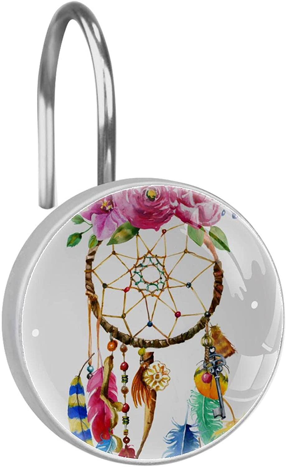 Stainless Super beauty product restock quality top Steel Anti-rustDecorative Hanger Albuquerque Mall Dream Catcher Ro Ring