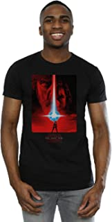 Men's The Last Jedi Red Poster T-Shirt