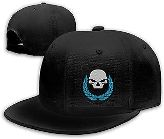 HiPiClothK Unisex Pop Game Ghost Recon Skull Leaf Logo Baseball Cap