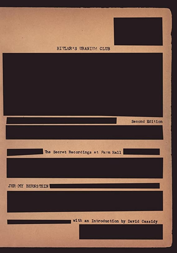 感情お客様プロペラHitler's Uranium Club: The Secret Recordings at Farm Hall