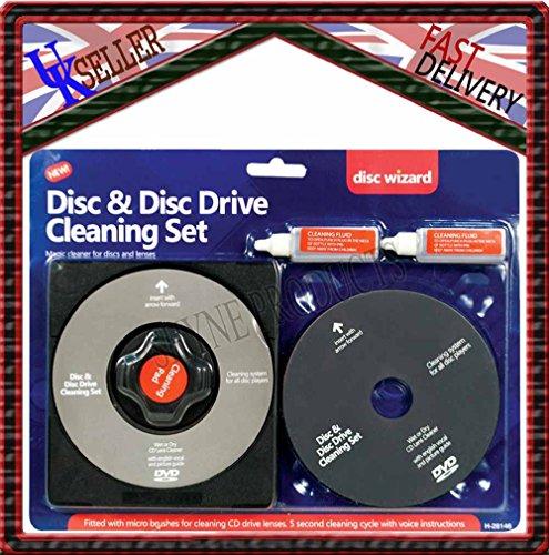 CD/DVD Player Disc Laser Lens Cleaning/Cleaner Set for...