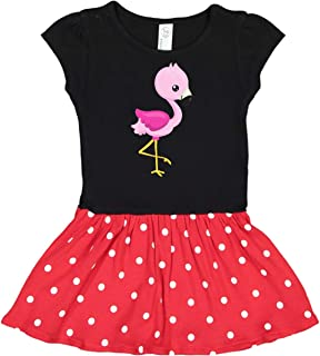 red flamingo dress