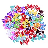 bodhi200050pcs Lovely de costura para álbumes de recortes botones de madera de 2agujeros DIY, Multicolor, Dog