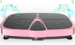 High quality Vibration Plate High Power Silent Motor, Intelligent Remote Control Bluetooth Music Player, Elastic Rope Home...