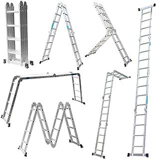 Escalera Mctech®, 6en 1,de aluminio, telescó