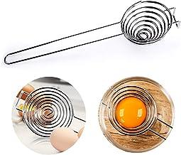 Egg Separator, Yolk White Separator Tool, Food Grade Stainless Steel-Dishwasher Safe, Kitchen Utility Gadget Cooking Bakin...