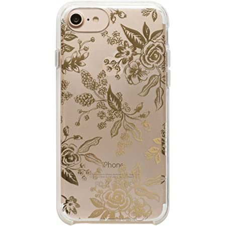 Rifle Paper Co - Clear Gold Floral Toile iPhone 6 & 7 Case