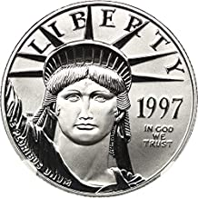 1997 P $50 Platinum Eagles Platinum Eagle Fifty Dollar MS70 NGC
