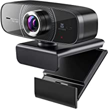 Webcam 1080P with Microphone HD Web Cam 30fps, Vitade 826M USB Computer Web Camera Cam for Streaming Gaming Conferencing M...
