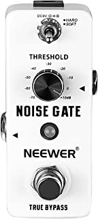 Neewer Aluminium-alloy Noise Killer Guitar Noise Gate Suppressor Effect Pedal with 2 Working Models and LED Indicator (Original Version)