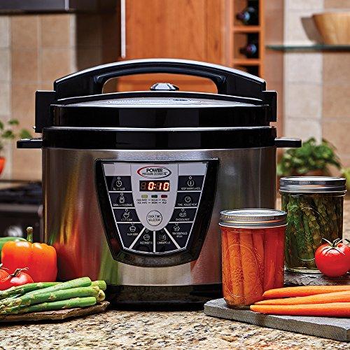 Power PPC773 Pressure Cooker XL 10 Qt