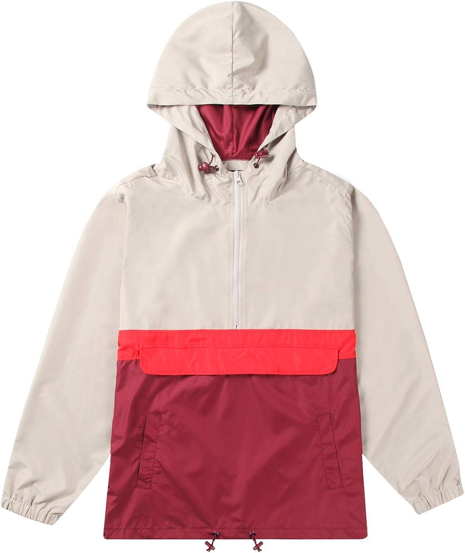 Men's Windproof Hoodie Regular fit long sleeve Lightweight Street Fashion Trenchcoat