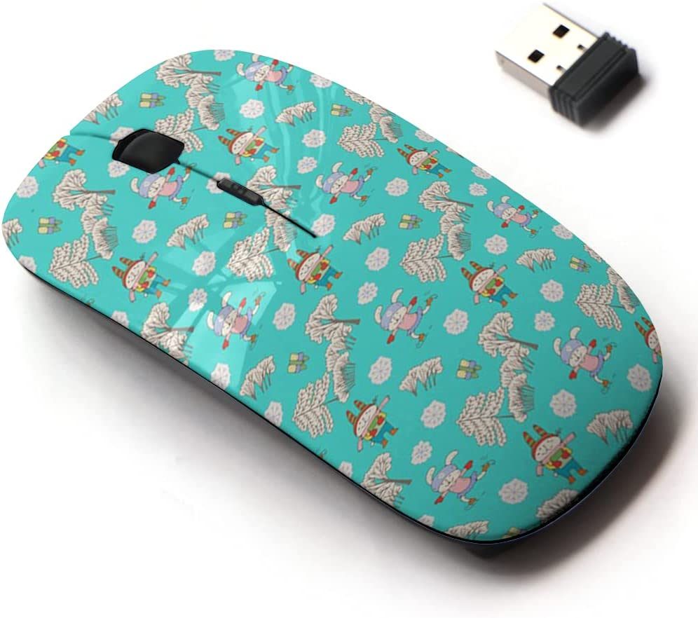 New Free Shipping 2.4G Wireless Mouse Large discharge sale with Cute Pattern Laptops Design All for and