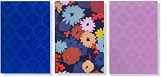 Kate Spade New York Triple Notebook Set with 80 Lined Pages Per Book, Dance Floor Dot