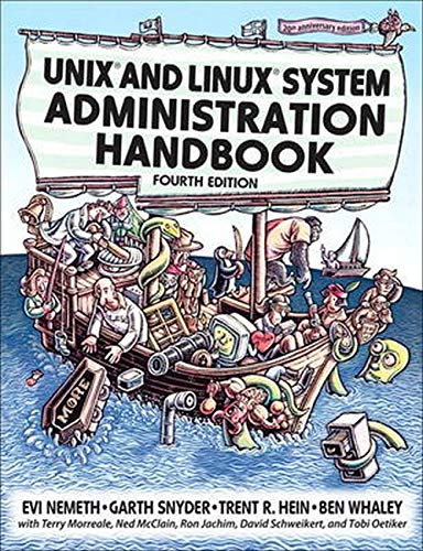Compare Textbook Prices for UNIX and Linux System Administration Handbook 4th Edition ISBN 8580001058917 by Nemeth, Evi,Snyder, Garth,Hein, Trent R.,Whaley, Ben,Morreale, Terry