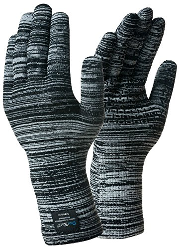 DexShell Alpine Contrast Gloves / LARGE / Grey