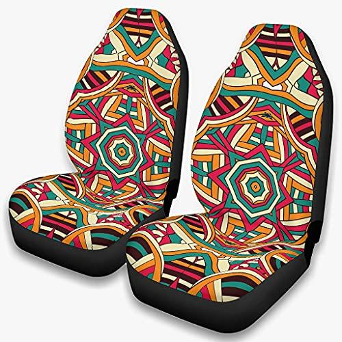 Fundas de asiento para coches antiguos Incan Coches Mayan Dust Case Cushion Premium - Cubote, 4 estaciones, universal blanco onesize