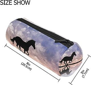 con motivo a cavalli sulla spiaggia 13 litri Cestino per la carta rotondo L/äufer 26666 in plastica resistente