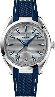 Omega Seamaster Aqua Terra 41mm Mens Watch on Blue Rubber Strap 220.12.41.21.06.001