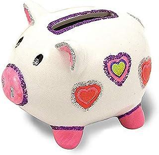 Melissa & Doug Decorate-Your-Own Piggy Bank Craft Kit