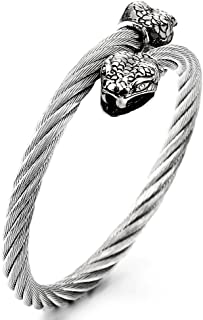 Best mens snake bracelet Reviews