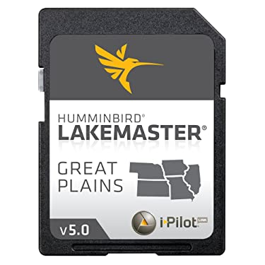 Humminbird LakeMaster 2014 Great Plains (IA / IL / KS / MO / NE) Digital GPS Map Card