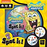 USAOPOLY Spot It! SpongeBob SquarePants   Fun Card Game for Kids and Adults   Featuring SpongeBob, Patrick, Squidward, The Krabby Patty, Gary and More   Licensed Nickelodeon SpongeBob SquarePants Game