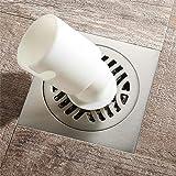 PLJHWW Tutto il rame anti-odore scarico del pavimento, insetto-prova e anti-ritorno acqua, grande flusso sanitari lavatrice scarico del pavimento