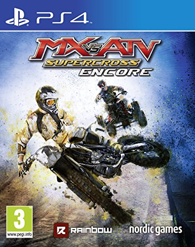 MX vs. ATV: Supercross Encore Edition (Playstation 4) [Edizione: Regno Unito]
