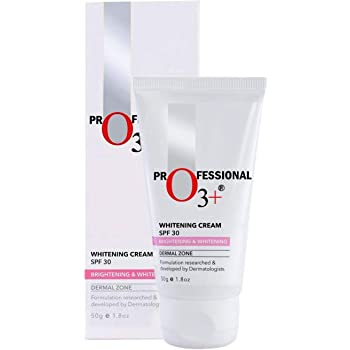 O3+ SPF 30 Whitening Cream for Skin Brightening & Whitening, 50g