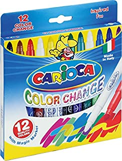 Carioca Color-Change Magic Ink Markers (Set of 12 Markers)