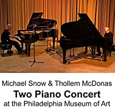 Two Piano Concert At the Philadelphia Museum of Art by Michael Snow (2014-05-04)