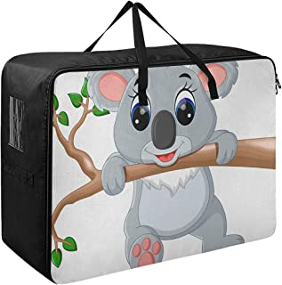 Organisateur de vêtements pour enfants mignon Koala dessin animé garçon vêtements organisateur 70 X 50 X 28 cm couette cou...