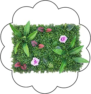 XEWNEG Artificial Boxwood Hedge Artificial Plant Grass Flower Leaf Hedge For Home, Gardens Ornament, Balcony And Terraces,...