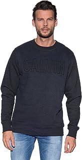 Calvin Klein Jeans Men's Hyperon Slim Fit Cn Hknit Ls Sweatshirt
