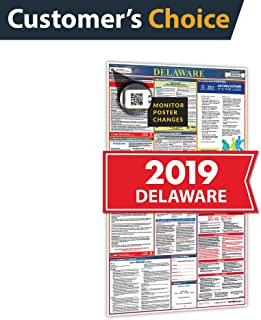 2019 Delaware All in One Labor Law Posters for Workplace Compliance