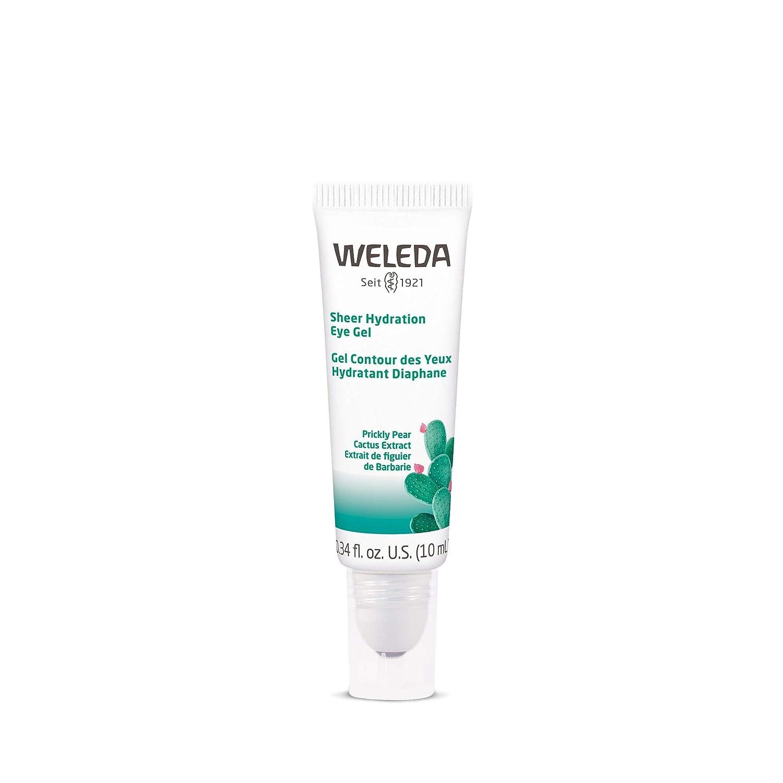 Weleda Sheer Hydration Eye Gel, Prickly Pear Cactus Extract, 0.34 Fluid Ounce