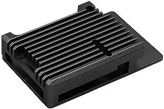 TOOGOO Custodia nel Alluminio per Raspberry Pi 4B Custodia nel Metallo con Raffreddamento Automatico con Adesivo Termico p...