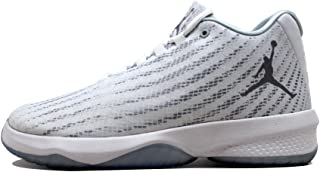 NIKE Jordan B. Fly Mens Basketball-Shoes 881444-100_12 - White/Wolf Grey-Pure Platinum, White/Grey, 12 M US