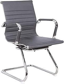 Gris Timeless Designer Style Escritorio de computadora Sala de reuniones contemporánea Sala de Juntas Recepción Reunión Silla de Oficina - Chair Outlet