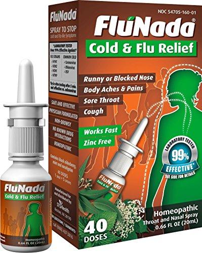 FluNada Cold & Flu Relief  ( 40 Doses)